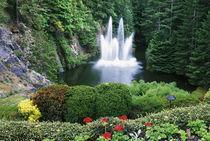 N.A., Canada, British Columbia, Vancouver Island, Saanich, Butchart Gardens von Danita Delimont