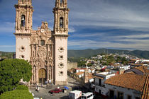 The parish church of Santa Prisca at Taxco in the State of Guerrero, Mexico. by Danita Delimont