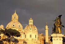 Europe, Italy, Rome. View from Altare della Patria von Danita Delimont