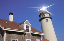 North America, USA, Massachusettes, Cape Cod, North Turo. Cape Cod lighthouse von Danita Delimont