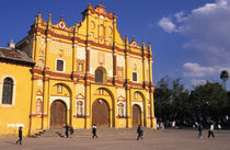 Mexico, Chiapas province, San Cristobal de Las Casas. Cathedral. by Danita Delimont