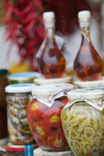 Europe, Italy, Campania, (Amalfi Coast) POSITANO: Marinated Vegetables by Danita Delimont