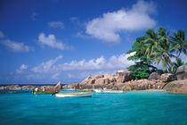 Africa, Seychelles, Praslin Island, St. Pierre Islet von Danita Delimont