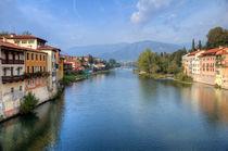 Bassano del Grappa Brenta river by Carla Zagni