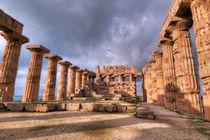 Selinunte temples  by Carla Zagni