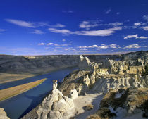 Hoodoos above the Missouri River National Monument in Montana by Danita Delimont