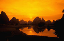 China.  Colorful China.  Beautiful Li river.  Colorful-Guilin. by Danita Delimont