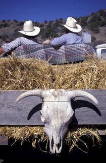 NA, USA, NM, Madrid. Cowboys. by Danita Delimont