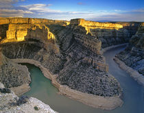 Bighorn River Canyon in Carbon County Montana von Danita Delimont