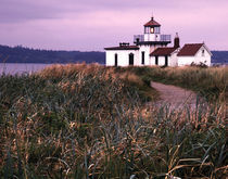 NA, USA, Washington, Fort Lawton Lighthouse, Seattle by Danita Delimont