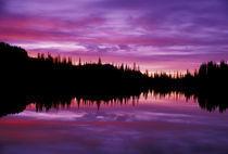 N.A., USA, Washington, Mt. Rainier Nat'l Park Sunrise at Reflection Lake by Danita Delimont