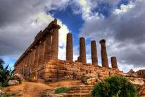 Ancient temple by Carla Zagni