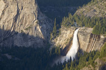CA, Yosemite NP, Nevada Falls from Glacier Point viewpoint von Danita Delimont