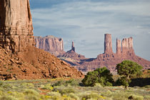 USA, Utah, Monument Valley Navajo Tribal Park by Danita Delimont