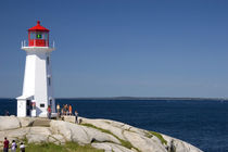 Lighthouse at Peggy's Cove von Danita Delimont