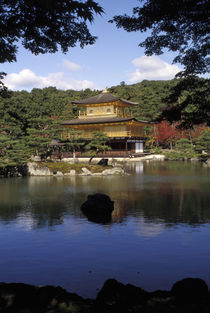 Golden Pavilion, Kyoto, Japan by Danita Delimont