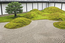 Japan, Kyoto, Tofukuji Temple, Landscape Garden von Danita Delimont