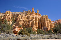 Sandstone rock formation in the Red Canyon von Danita Delimont