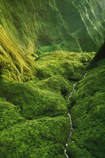 Wai Ale Ale (aerial), Kauai, Hawaii von Danita Delimont