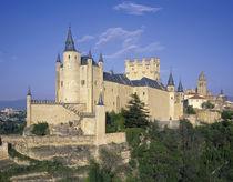 Alcazar, Segovia, Castile Leon, Spain by Danita Delimont
