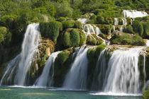 CROATIA, Sibenik-Knin Region, KRKA NATIONAL PARK. Skradinski Buk Waterfalls von Danita Delimont