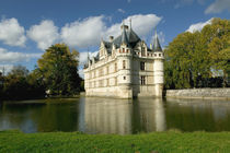 Chateau of Azay-le-Rideau, Indre-et-Loire, Loire Valley, France by Danita Delimont