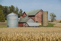 USA-IOWA-Froelich: Old farm by Danita Delimont