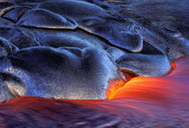 USA, Hawaii, Big Island, Kilauea Volcanoes NP Volcanic eruption von Danita Delimont