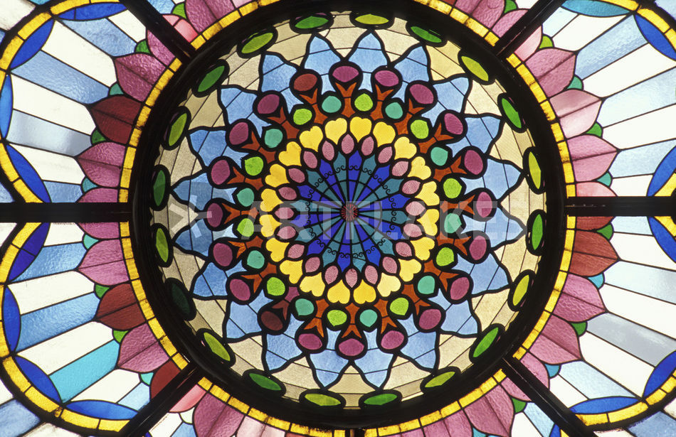 Hungary Budapest Museum Of Applied Arts Stained Glass Window Picture Art Prints And Posters By Danita Delimont Artflakes Com