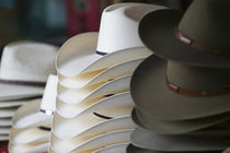 USA-TEXAS-Hill Country-Fredricksburg: Cowboy Hats at the Texas Hat Shop by Danita Delimont