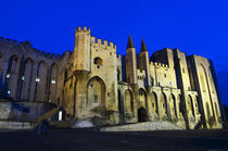The Pope's Palace in Avignon at sunset by Danita Delimont