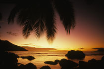 Beauvallon Bay off Mahe Island, Seychelles, Africa von Danita Delimont