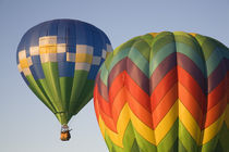 WA, Prosser, The Great Prosser Balloon Rally, Hot air balloons in flight von Danita Delimont