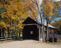 Covered Bridge, Grafton, Vermont, USA by Danita Delimont