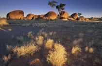 Australia, Northern Territory  Devils Marbles at sunset  Note by Danita Delimont
