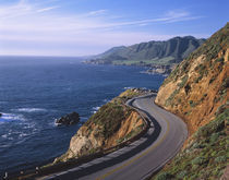 Highway #1 along the California Coast near Carmel. by Danita Delimont
