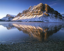 Canada, Alberta, Banff NP, Bow Laka at sunrise by Danita Delimont