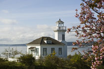 Small lighthouse in Port Townsend, WA von Danita Delimont