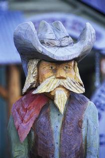 Cowboy Statue, Winthrop, WA von Danita Delimont