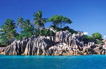Seychelles. Ilot St. Pierre (near Praslin Island). by Danita Delimont