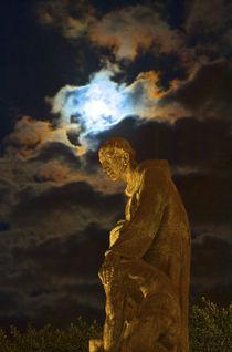 Mexico, San Miguel de Allende, The Jardin, Statue of Fray Juan de San Miguel von Danita Delimont