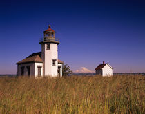 WA, Maury Island, Point Robinson Lighthouse by Danita Delimont