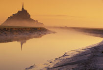 FRANCE, Normandy Mont St. Michel Morning Light by Danita Delimont