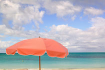 TURKS & CAICOS, Providenciales Island, Grace Bay Beach chairs, Grace Bay by Danita Delimont