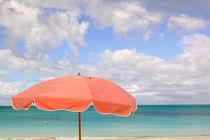 TURKS & CAICOS, Providenciales Island, Grace Bay Beach chairs, Grace Bay von Danita Delimont