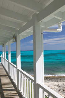 "BAHAMAS- Abacos-""Loyalist Cays""-Man O'War Cay: Porch View of the Atlantic Ocean by Danita Delimont"