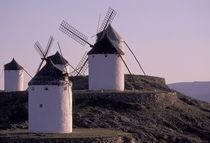 Europe, Spain, Consuegra Windmills von Danita Delimont