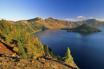 Wizard Island at Crater Lake National Park in Oregon von Danita Delimont
