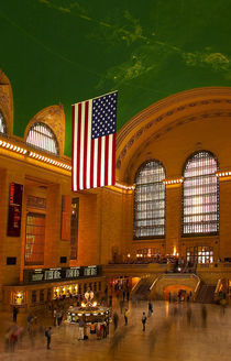 USA, New York. Interior view of Grand Central Station. Credit as von Danita Delimont