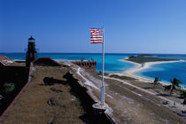 USA, FL, Florida Keys, Fort Jefferson, 1846, stands on Garden Key, Dry Tortugas. von Danita Delimont